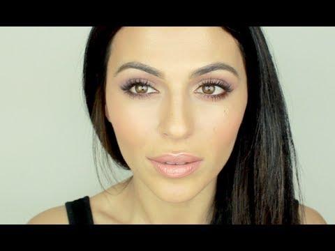How To: Spring Makeup Using Purple and Peach | Natural Makeup Tutorial | Teni Panosian thumbnail