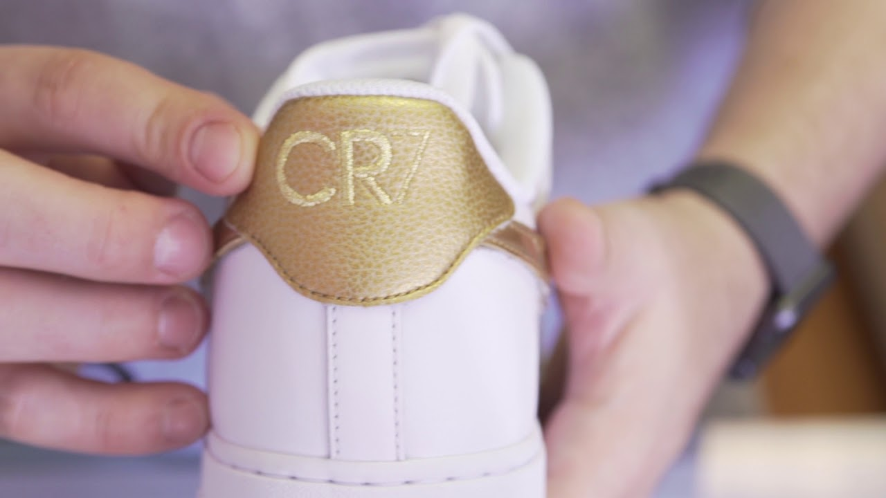 aebed074ec2 Nike Air Force One CR7 unboxing by Capital BST