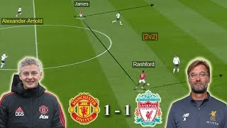 Best Tactical Battle of the Season | Man United vs Liverpool 1-1 | Tactical Analysis