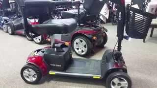 Pride Go-Go Elite Traveller Sport 4 S74 Review StatewideMobility.com