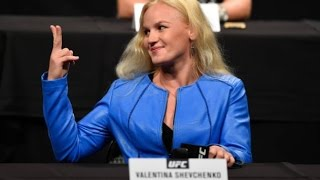 "Valentina Shevchenko ""You Have 2 Months"""