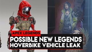 Apex Legends: POSSIBLE NEW LEGENDS! HOVERBIKE VEHICLE LEAK! VALENTINES DAY ITEMS!