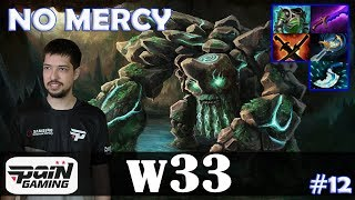 w33 - Tiny MID | NO MERCY 21 KILL + ULTRA KILL | Dota 2 Pro MMR Gameplay #12