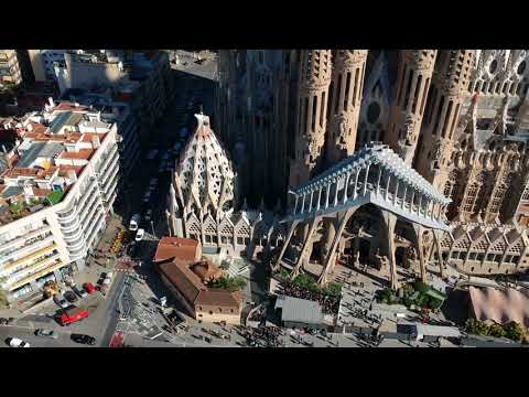 Barcelona 2017 November - Aerial and Street