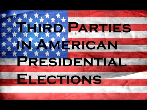 Charted Interests: History of Third Party Candidates in U.S. Presidential Elections