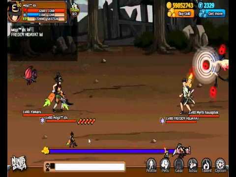 Ninja Saga PVP