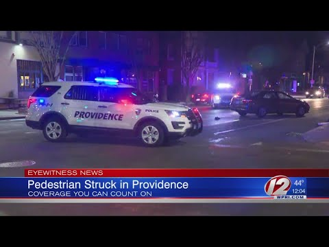 Pedestrian Struck by Vehicle in Providence