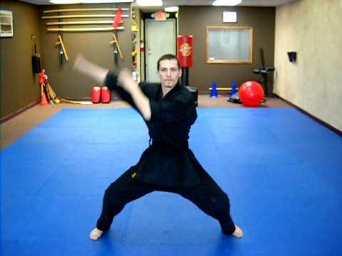 Kata 1 - Shaolin Kempo Form
