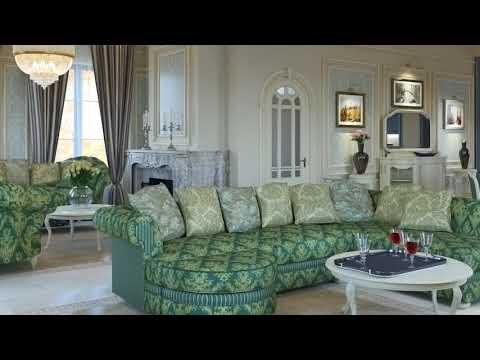 Интерьер частной усадьбы в классическом стиле