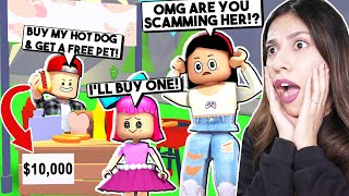I CAUGHT MY SON SCAMMING PEOPLE on ADOPT ME!- Roblox - Adopt Me *NEW UPDATE*