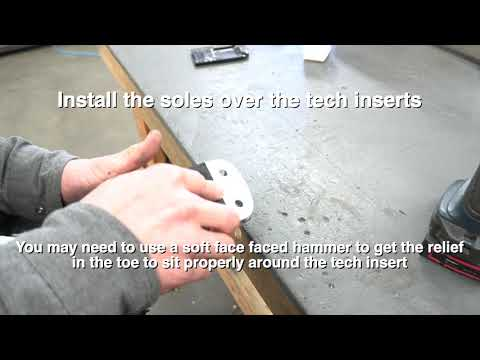 Boot Conversion(Replaceable Soles)