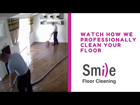 How to Clean Professionally Clean a Karndean Floor | Smile Floor Cleaning