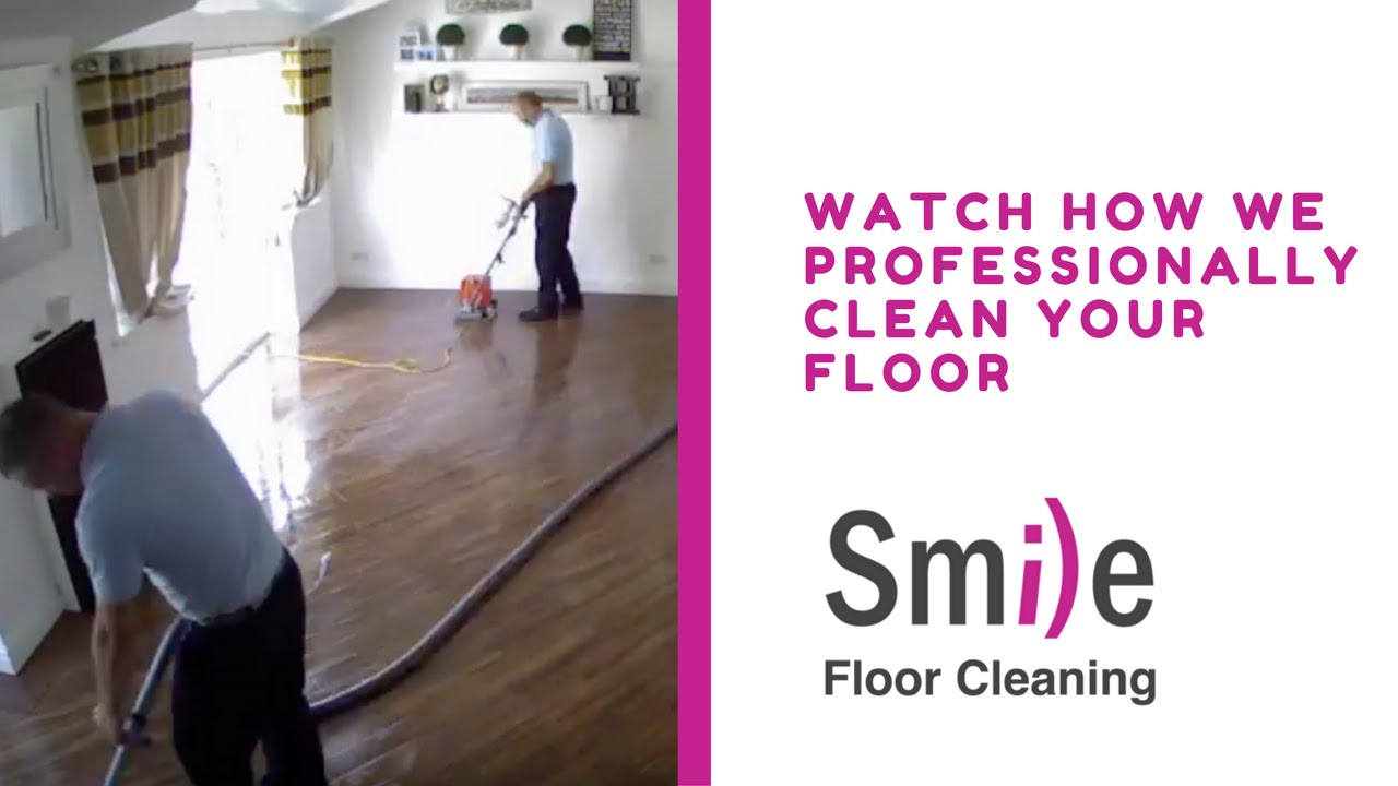 How To Clean Professionally A Karndean Floor Smile Cleaning