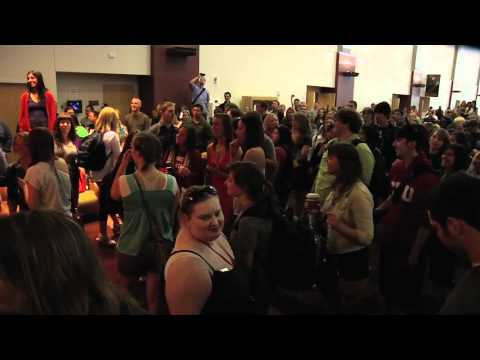 Sights & Sounds - CWU Opera Flash Mob