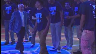 UNC Men's Basketball: Coaches dance at LNWR