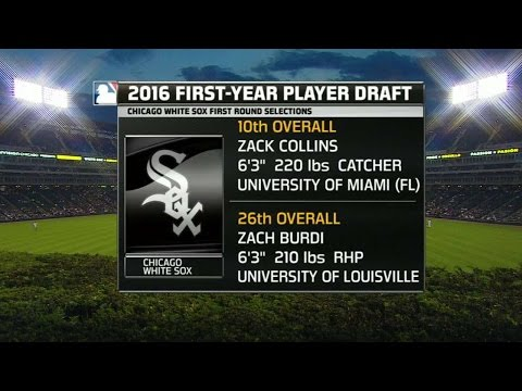 WSH@CWS: White Sox broadcast discusses Draft picks
