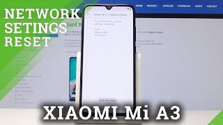 How to Set Default Network Settings on XIAOMI Mi A3 - Reset Network Settings