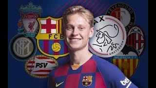 FRENKIE DE JONG | Barça & Ajax players challenge