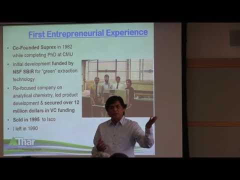 "ME Distinguished Lecture: Lalit Chordia  ""Entrepreneurship for Engineers"""