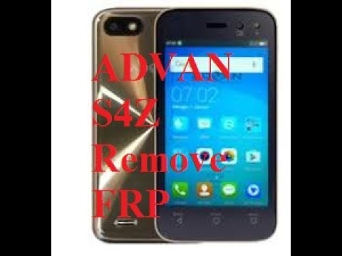Frp Advan S4z Tanpa Pc Remove Google Account Bypas Frp Youtube
