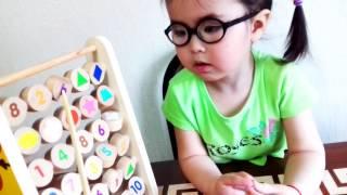 #Изучаем цифры и геометрические фигуры  Видео для детей /Geometric shapes for children