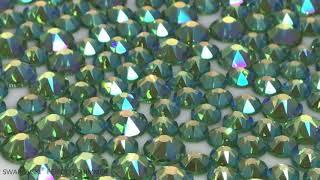 853cb6d1b Swarovski® Peridot Shimmer Rhinestones ...