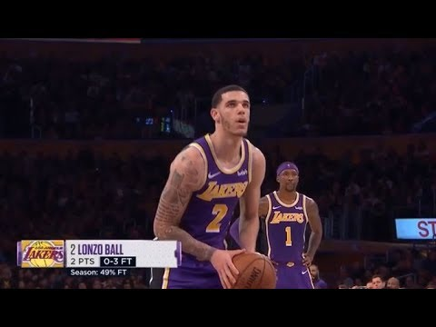 Lakers fans welcome Ingram, Ball back to Staples