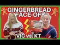 VLOGMAS - USC Athletes Make Gingerbread Houses (Victoria Garrick vs. Katie Defeo)