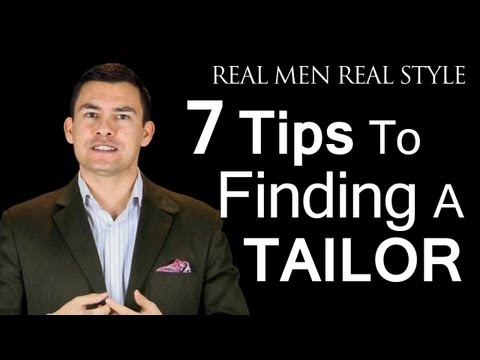 How To Find A Local Tailor - 7 Tips To Choose A Seamstress - Locate Tailors Seamstresses