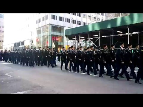 """The Fighting 69th"" United States Army National Guard Leads The St. Patrick"