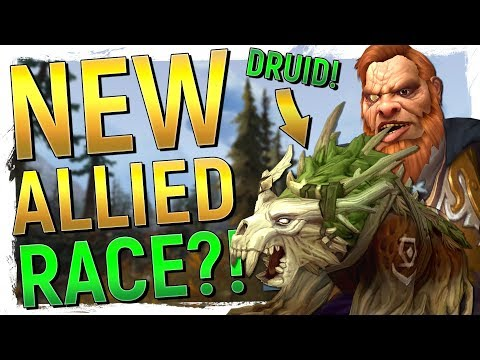 Download Youtube: NEW ALLIED RACE! Kul'tiran Humans & New Druids in WoW: Battle for Azeroth