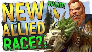 NEW ALLIED RACE! Kul'tiran Humans & New Druids in WoW: Battle for Azeroth