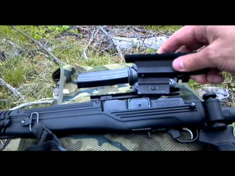 ruger tactical mini 14 rail review youtube