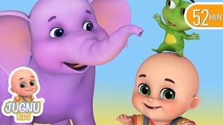 नन्हा हाथी | elephant song for baby | hindi kahani | hindi rhymes for children
