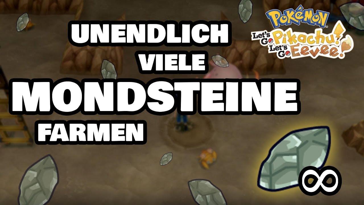 Mondstein Farmen Unendlich Oft Pokemon Lets Go Pikachu Und Evoli