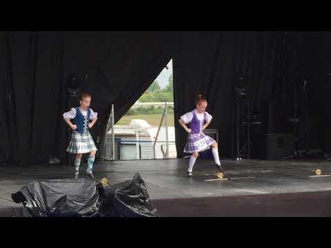The Sword Dance - Highland Dancing