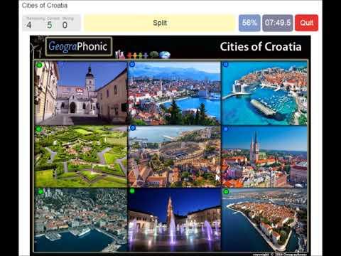 cities of Croatia, tourism, travel, Zagreb, Zadar, Dubrovnik, split,  Pula, Rijeka, Osijek,