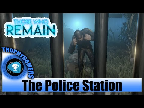Those Who Remain - Get Across The Police Station & Water Valves Puzzle - Gameplay Walkthrough Video