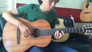 Cơn mưa hạ guitar solo