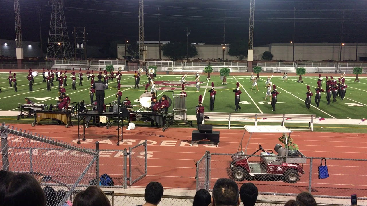 Bell Gardens High School Marching Band 2017 2018 The Woodsman Stole My Heart Youtube
