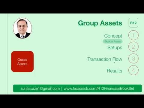 Group Assets in Oracle Assets module (Oracle eBusiness Suite R12)
