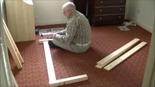 Assemble Pine Wood Bedframe 1