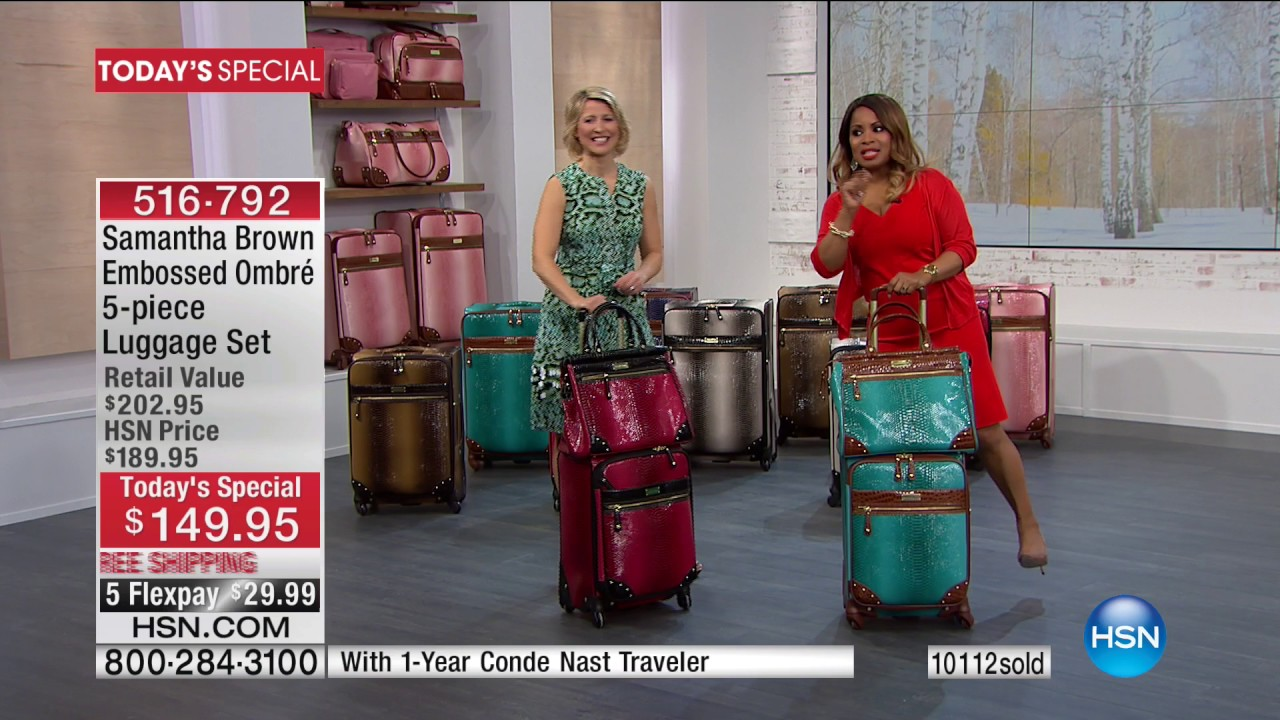 Samantha Brown Luggage Qvc: Samantha Brown Travel 01.29.2017 - 05 PM - YouTube