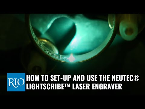 How To Use The Neutec® LIGHTScribe™ Laser Engraver