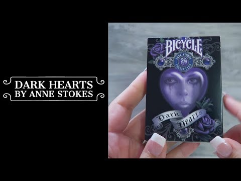 Bicycle Dark Hearts By Anne Stokes