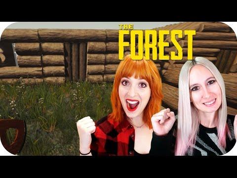 PREPARANDO NUESTRO NIDITO DE AMOR!!! - Con Lili en 4.0 - The Forest Ep 07