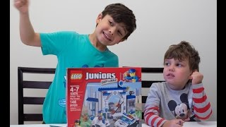 Lego Juniors Police Station 10675 - Unboxing, Time-lapse Building, Review