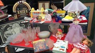 Long Beach Flea Market, November 20, 2016 (11-20-16)! Lots of Fun Vintage & Antique Collectibles!