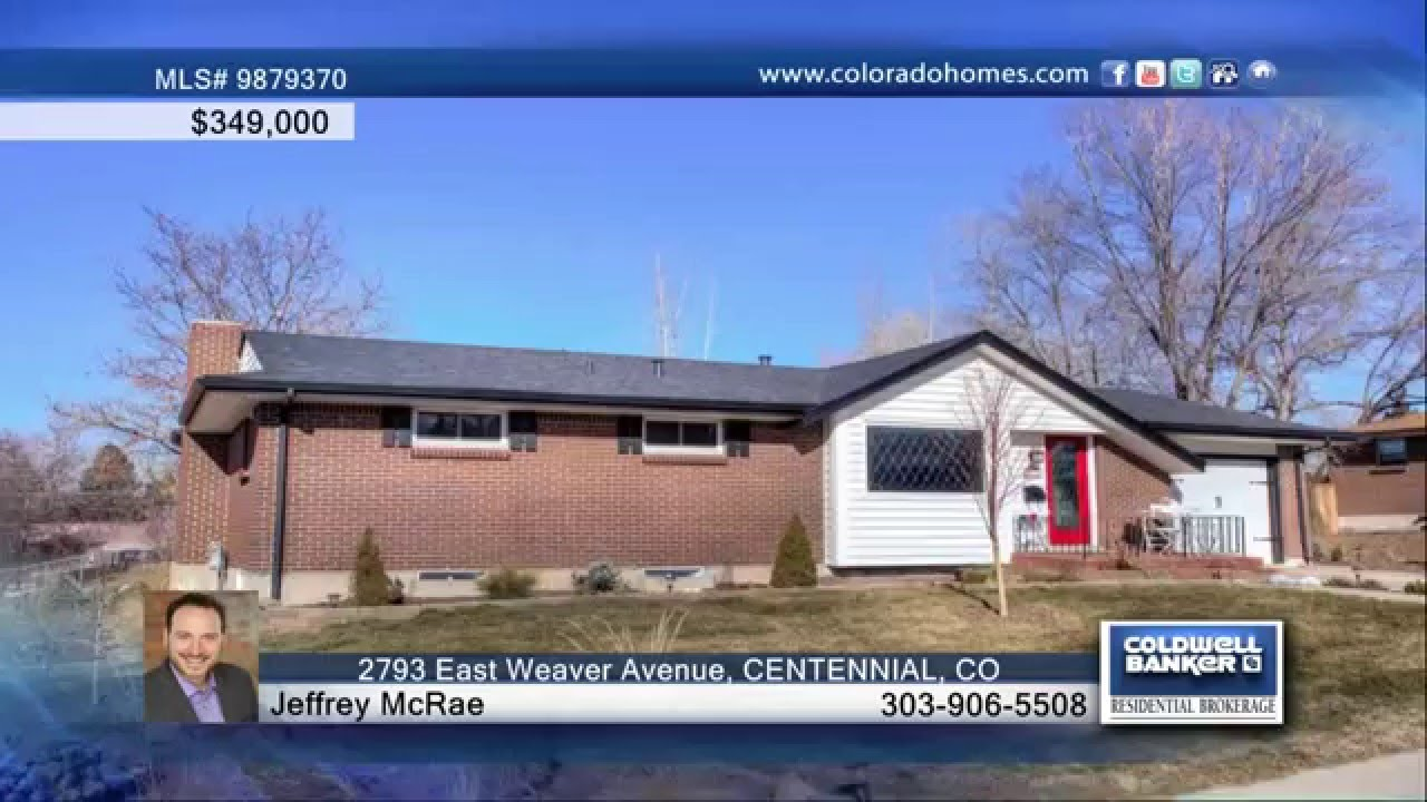 2793 east weaver avenue centennial co homes for sale youtube. Black Bedroom Furniture Sets. Home Design Ideas