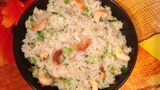 Spring Onion Rice Or Vengaya Thal Sadam